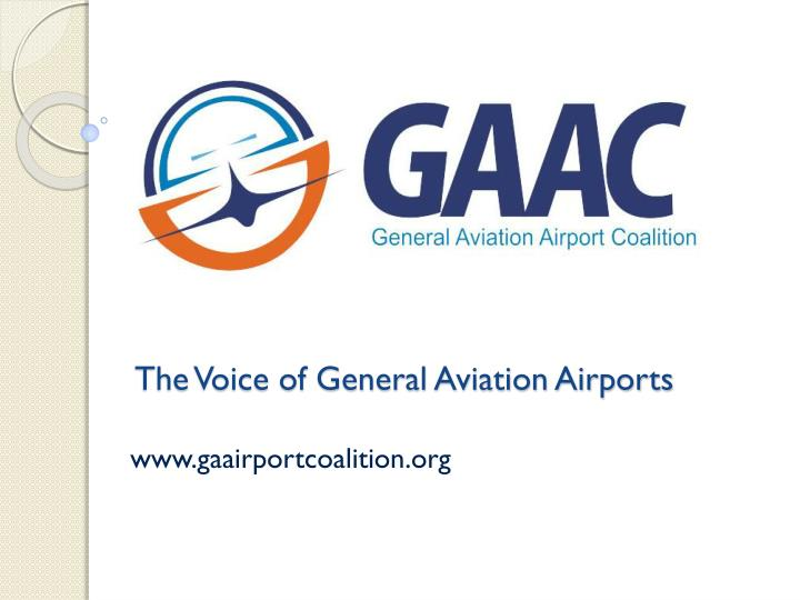 The voice of general aviation airports