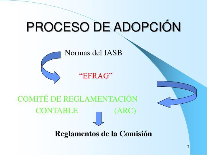 PROCESO DE ADOPCIÓN