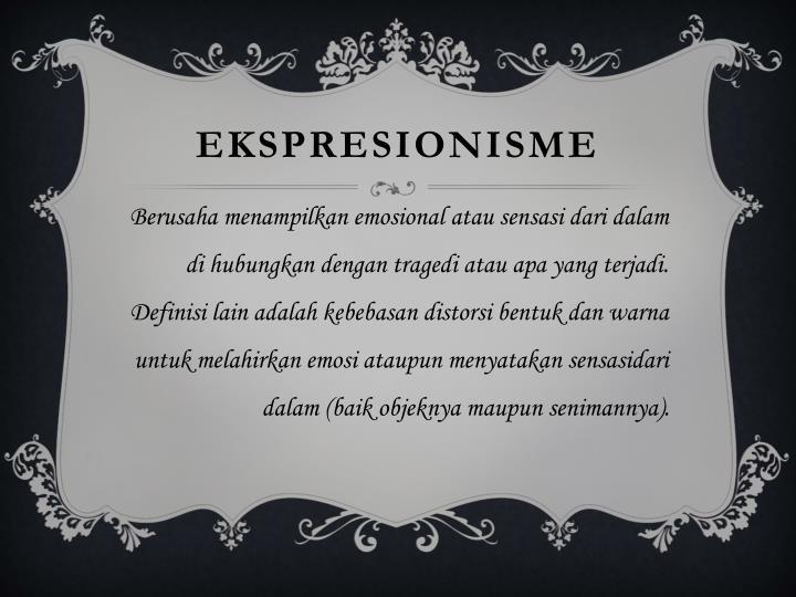 Ekspresionisme