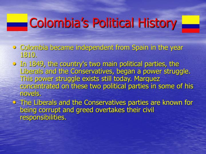 Colombia's Political History