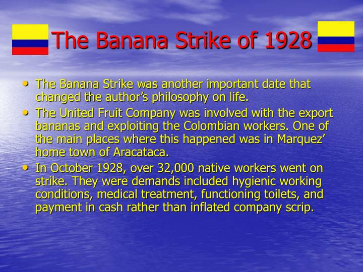 The Banana Strike of 1928
