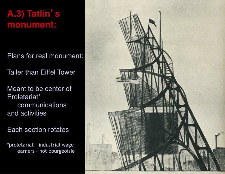 A.3) Tatlin