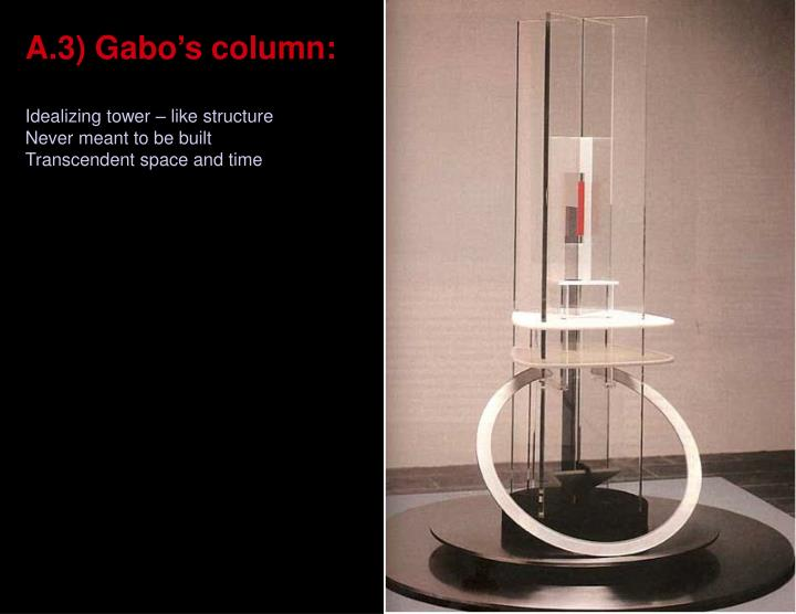 A.3) Gabo