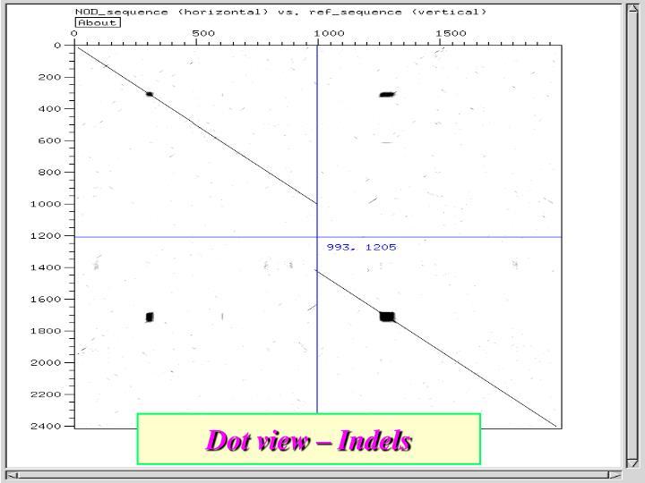 Dot view –