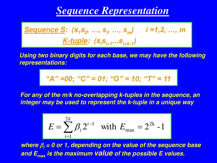 Sequence S