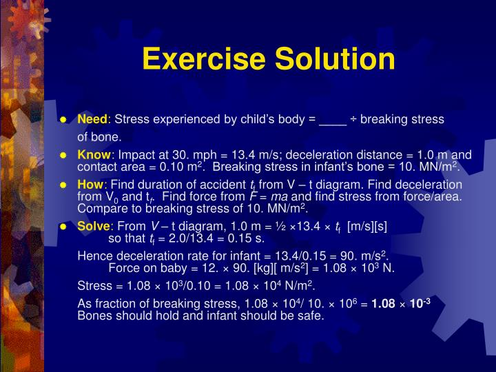 Exercise Solution