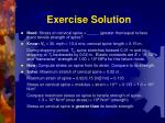 exercise solution1