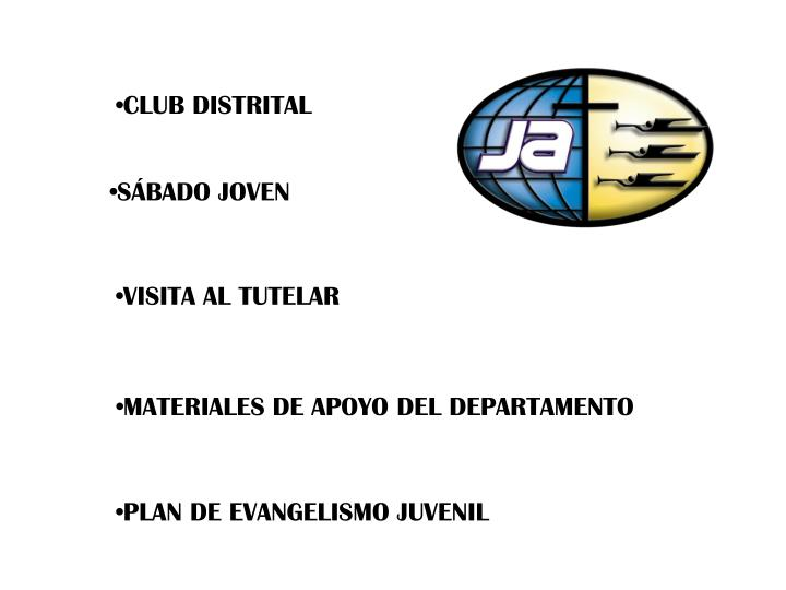 CLUB DISTRITAL