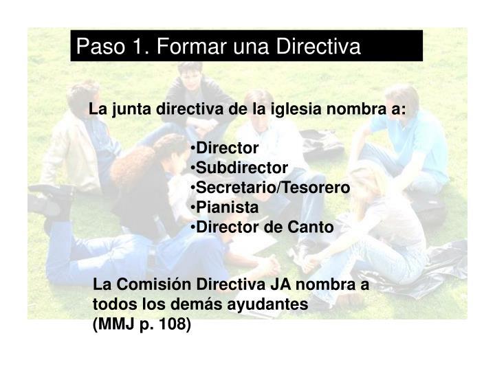 Paso 1. Formar una Directiva