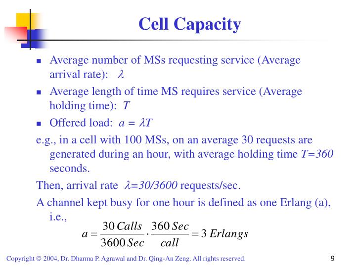 Cell Capacity