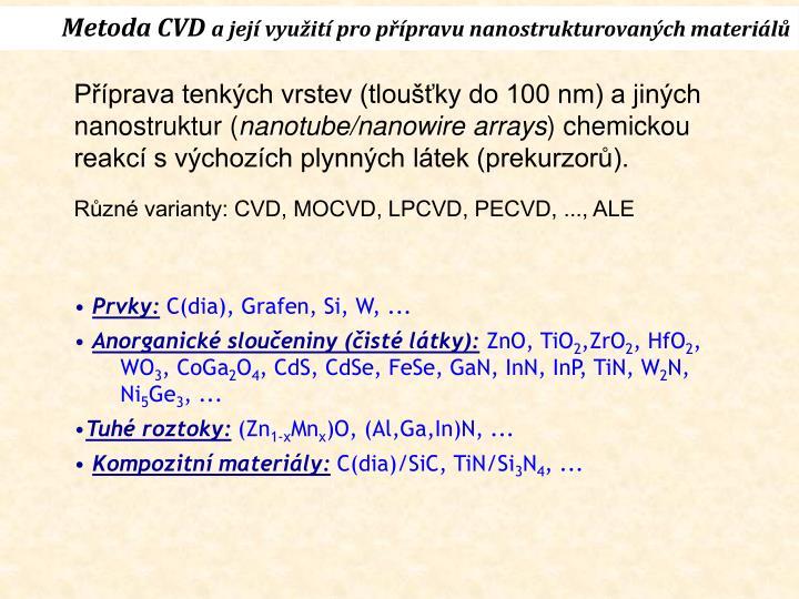 Metoda CVD