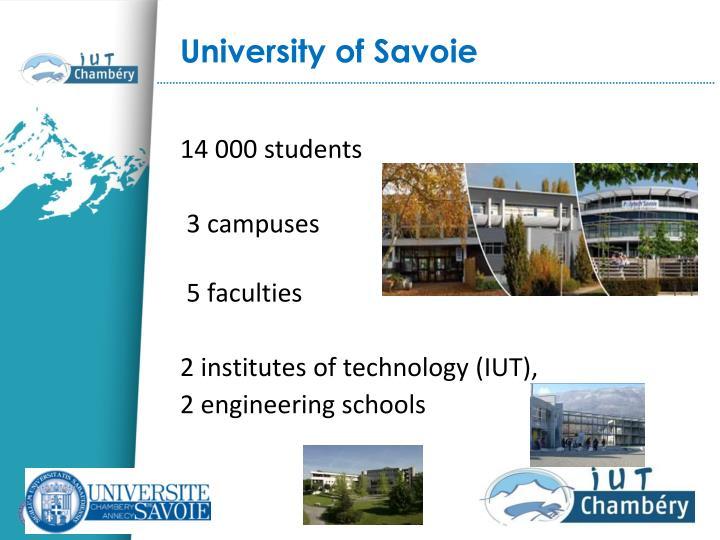 University of Savoie
