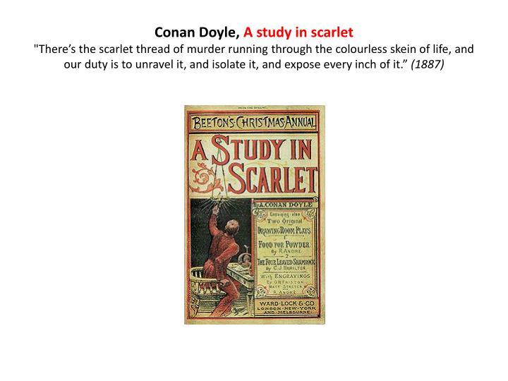 Conan Doyle,