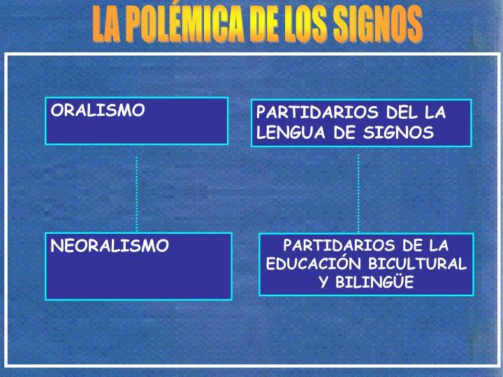 LA POLÉMICA DE LOS SIGNOS