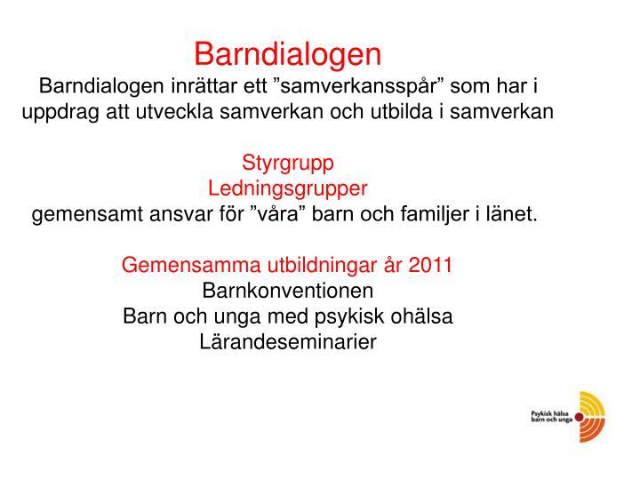 Barndialogen