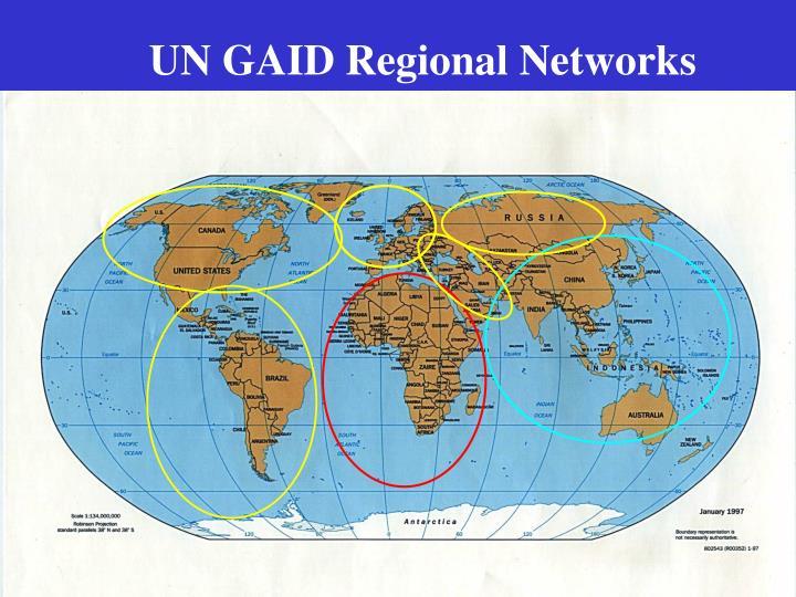 UN GAID Regional Networks