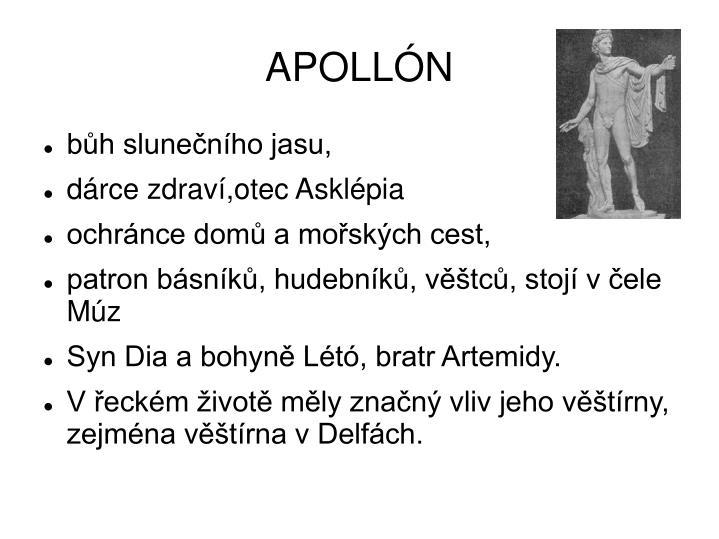 APOLLÓN