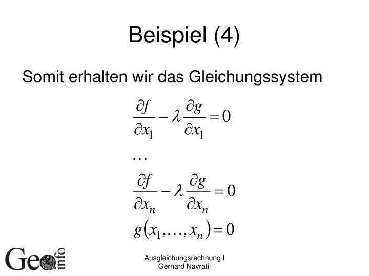 Beispiel (4)