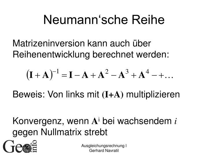 Neumann'sche Reihe
