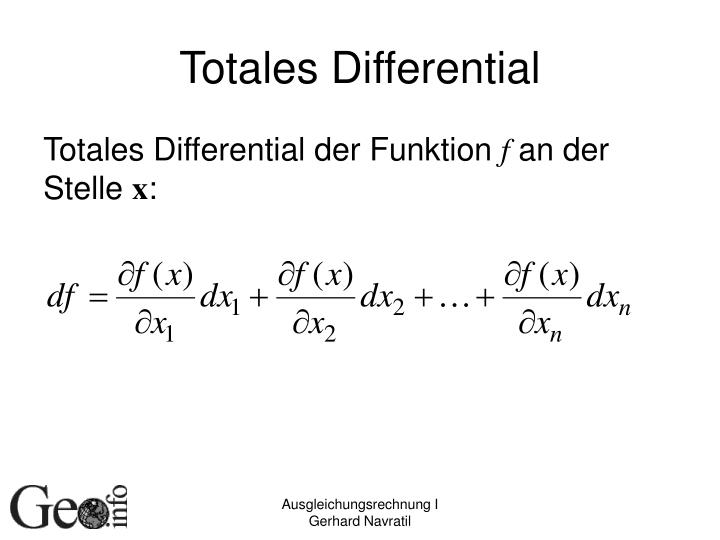 Totales Differential