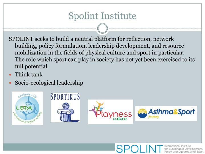 Spolint institute