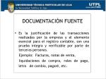 documentaci n fuente