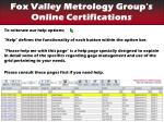 find your certifications help