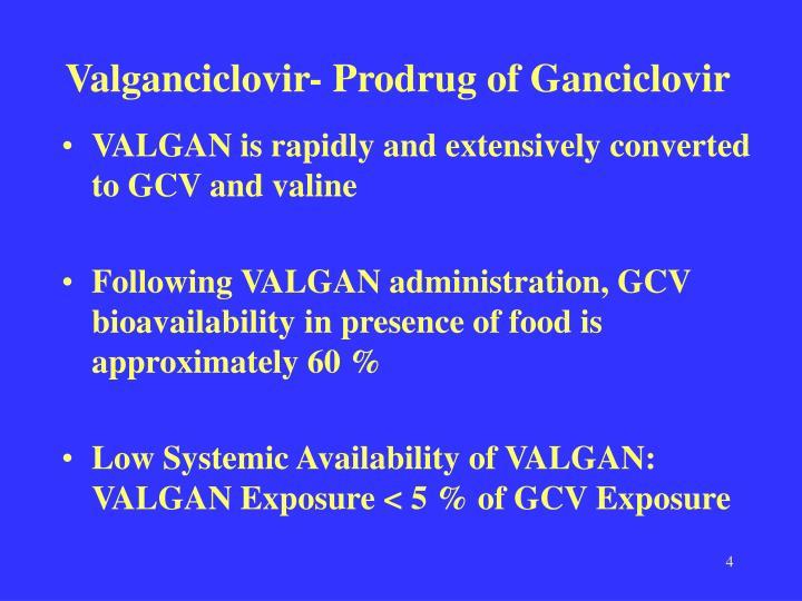 Valganciclovir- Prodrug of Ganciclovir