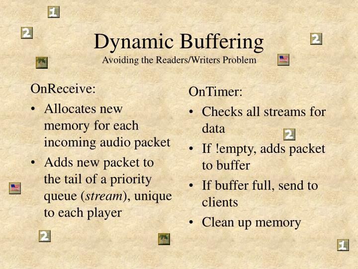 Dynamic Buffering