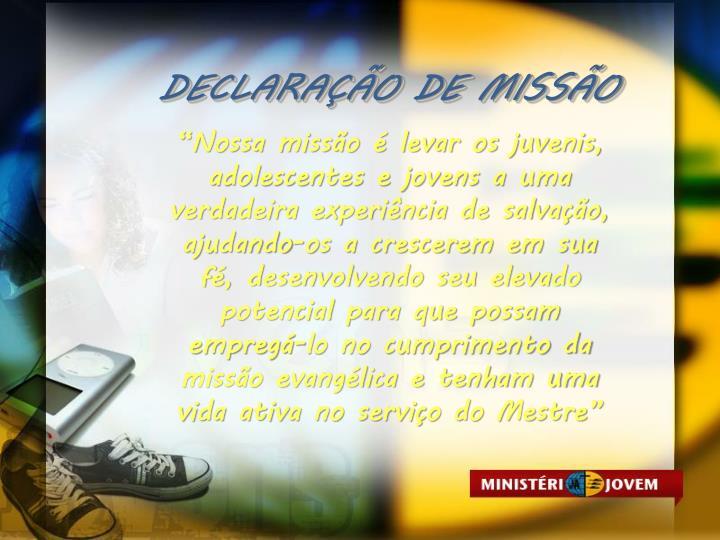DECLARAO DE MISSO