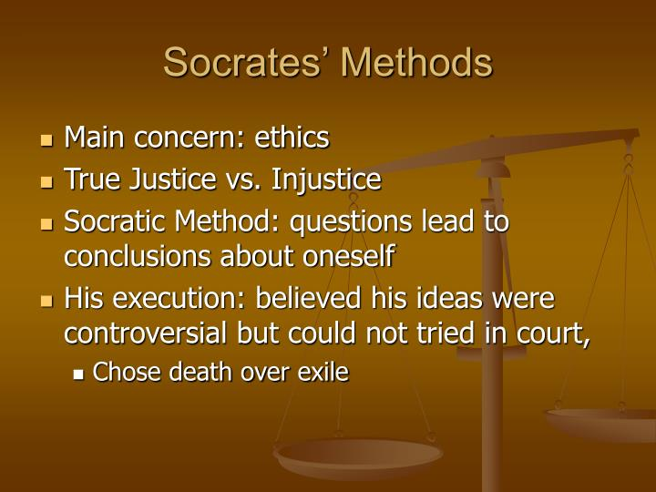 Socrates' Methods