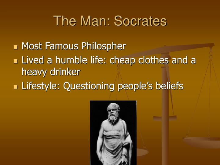 The Man: Socrates