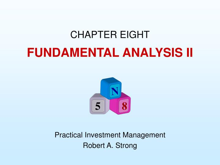 Fundamental analysis ii