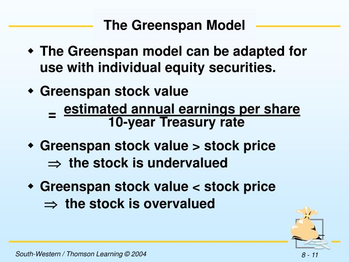 The Greenspan Model