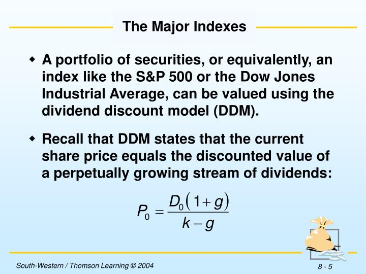 The Major Indexes