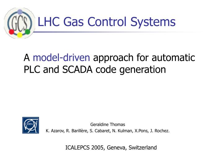 lhc gas control systems