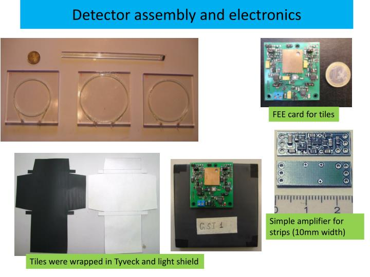 Detector assembly and electronics