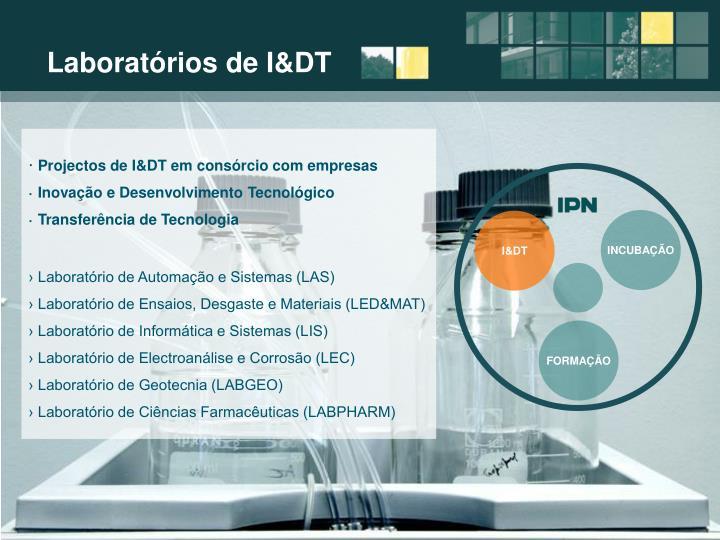 Laboratórios de I&DT