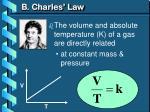 b charles law1