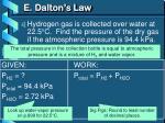e dalton s law1