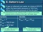 e dalton s law2