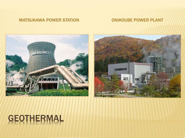 Matsukawa Power Station
