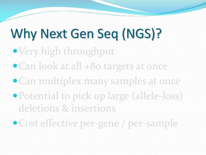 Why Next Gen