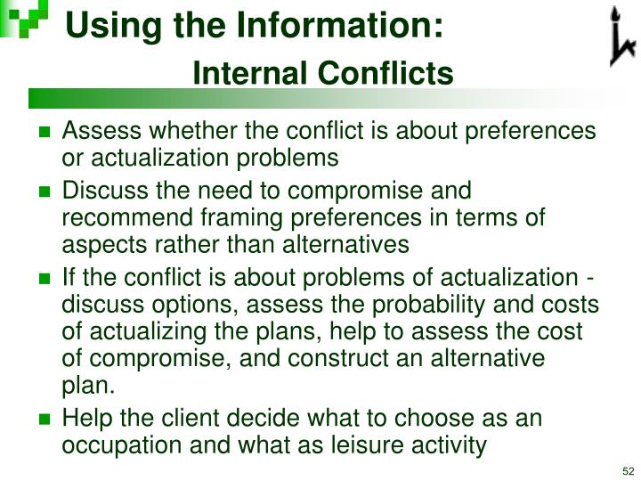 Using the Information: