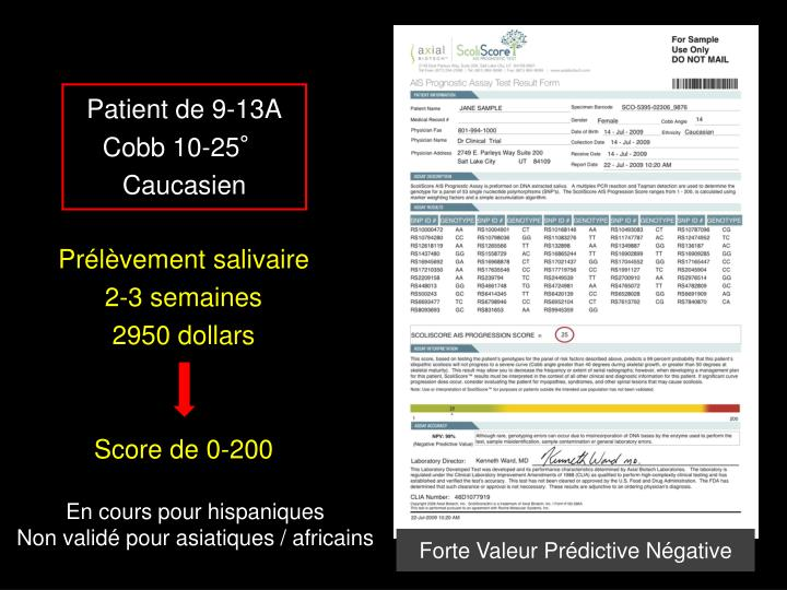 Patient de 9-13A