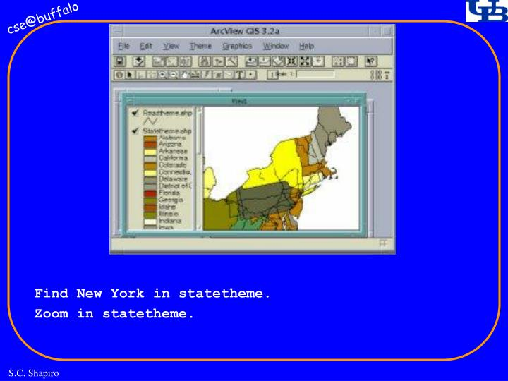 Find New York in statetheme.