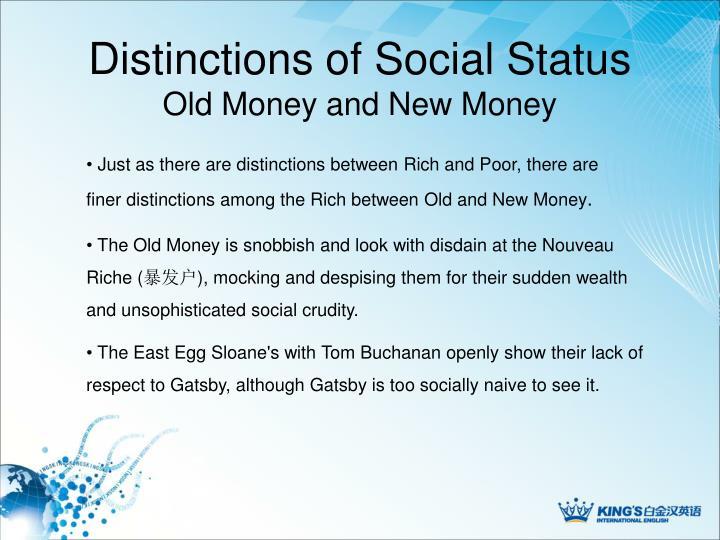 Distinctions of Social Status