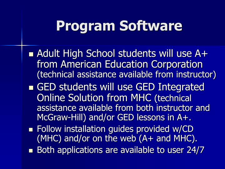 Program Software
