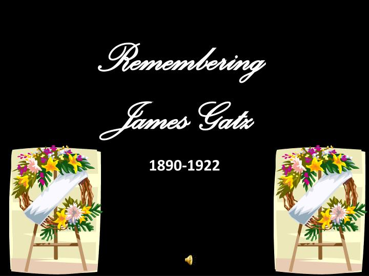 Remembering james gatz