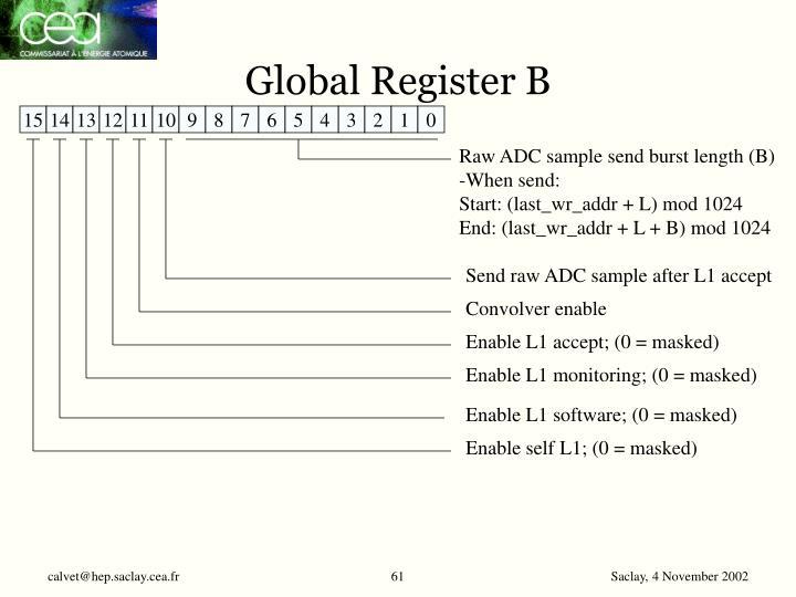 Global Register B